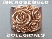18K Rose Gold Colloidals