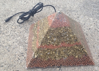 Orgone Giza Pyramid with Piezo