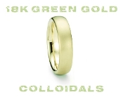 18k Green Gold Colloidals