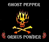 Ghost Pepper Ormus Powder