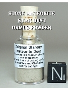 Stone Meteorite Star Dust Ormus Powder