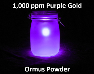 1,000 ppm Purple Gold Ormus Powder