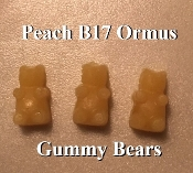 Peach B17 Ormus Gummy Bears