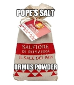 Pope's Salt Ormus Powder