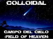 Colloidal Campo del Cielo (Field of Heaven) Meteorite