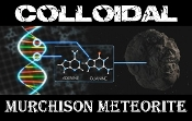 Colloidal Murchison Meteorite