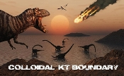 Colloidal KT Boundary