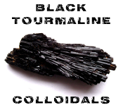 Black Tourmaline Colloidals