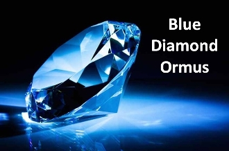 Persian Blue Diamond Ormus