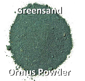 Greensand Ormus Powder