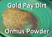 Gold Pay Dirt Ormus Powder