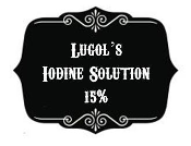 Lugol's Iodine Solution Ormus Powder