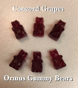 Concord Grape Ormus Gummy Bears