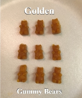 Golden Gummy Bears