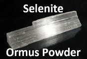 Selenite Ormus Powder