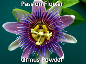Passion Flower Ormus Powder