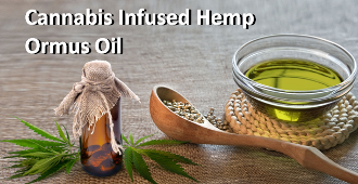 Cannabis Infused Hemp Ormus Oil