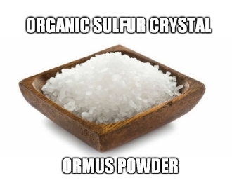 Organic Sulfur Crystal Ormus Powder