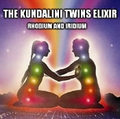 The Kundalini Twins Elixir - Rhodium and Iridium