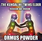 The Kundalini Twins Elixir - Rhodium and Iridium Ormus Powder