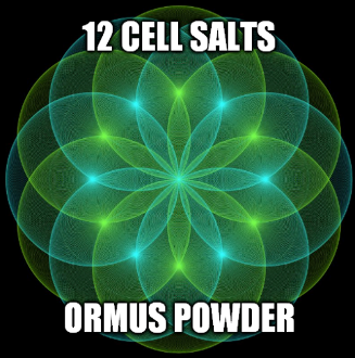 12 Cell Salts Ormus Powder