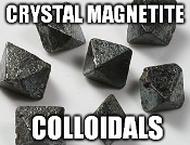 Crystal Magnetite Colloidals