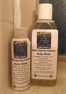 Blue Spruce Ormus Body Wash