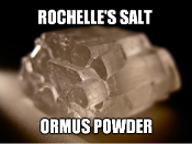 Rochelle's Salt Ormus Powder