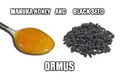 Manuka Honey and Black Seed Ormus