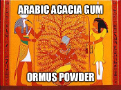 Arabic Acacia Gum Ormus Powder