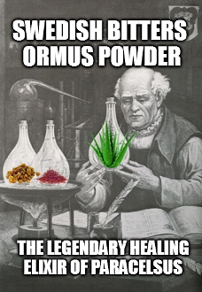 Swedish Bitters Ormus Powder