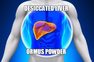 Desiccated Liver Ormus Powder