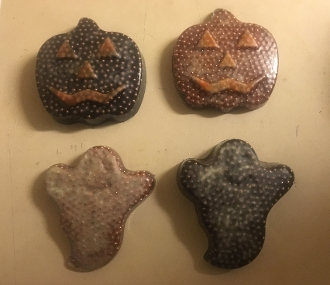 Glow in the Dark Ormus Orgone Ghosts and Pumpkins