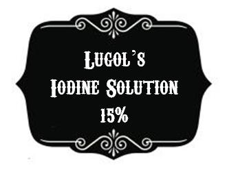 Dead Sea Salt infused Lugol's Solution