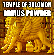 Temple of Solomon Ormus Powder
